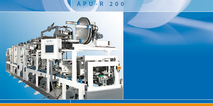 APU-R - Automatic profile wrapping machine