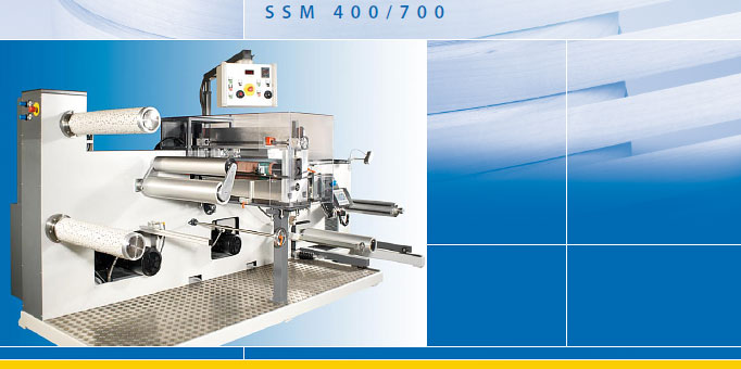 SSM 400/700 - Strip-slitting and Rewinding machine