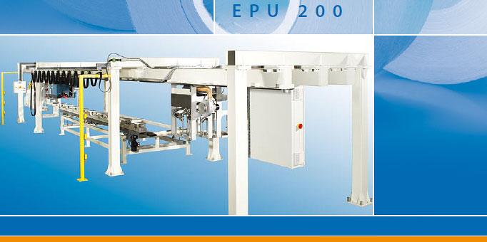 EPU 200 - Einzelprofilummantelungsmaschine