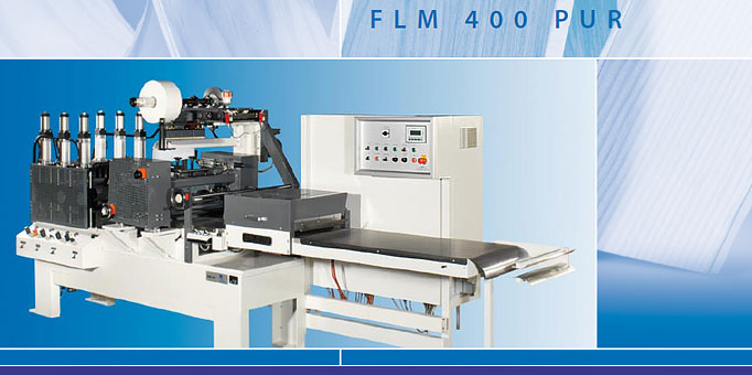 FLM 400 - Laminating machine